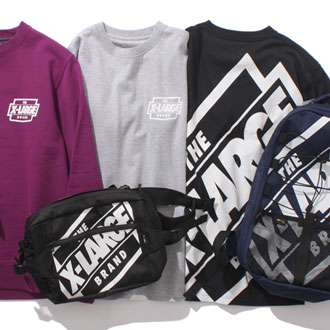 XLARGE® 2017 SPRING THE BRAND LOGO COLLECTION