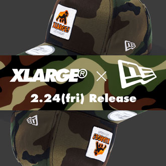 2.24.fri XLARGE® × NEW ERA 9FORTY D-Frame
