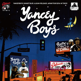 YANCEYBOYS SUNSET BLVD. ALBUM RELEASE JAPAN …
