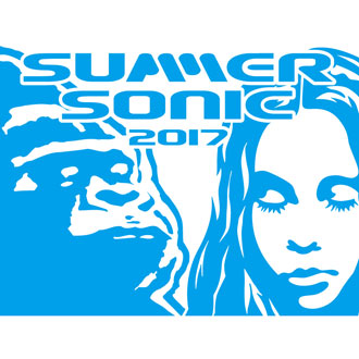 SUMMER SONIC 2017×XLARGE®×X-girl STICKER