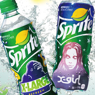 Sprite×XLARGE®×X-girl RELEASE