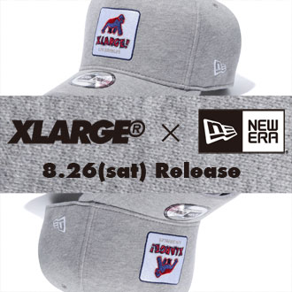 8.26.sat XLARGE® × NEW ERA 9FORTY D-Frame