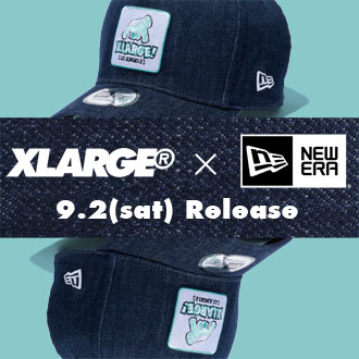 9.2.sat XLARGE® × NEW ERA 9FORTY D-Frame