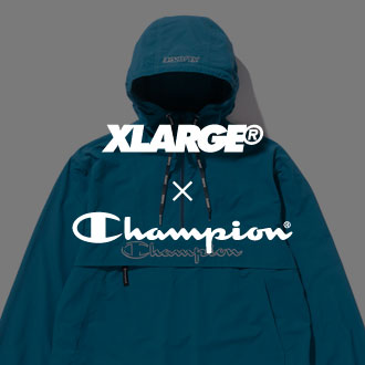 10.13.fri XLARGE®×Champion