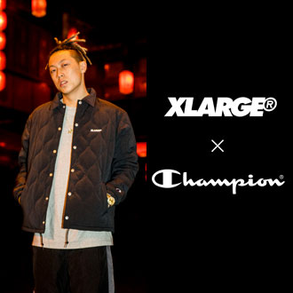11.10.fri XLARGE®×Champion