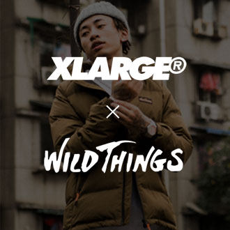12.8.fri XLARGE®×WILDTHINGS