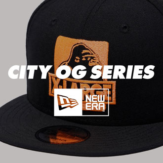 2.9.fri XLARGE®×NEWERA CITY OG SNAPBACK CAP