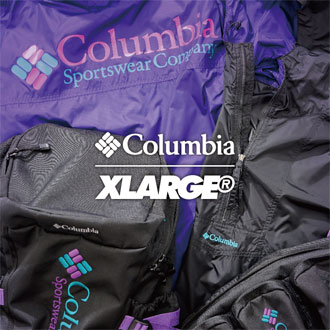 2.16.fri XLARGE®×Columbia