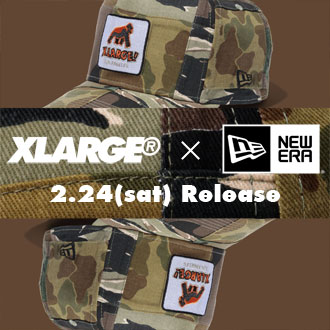 2.24.sat XLARGE®×NEW ERA WALKING APE CAP