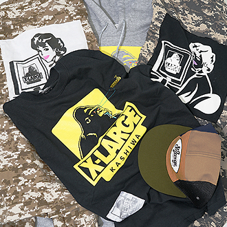 3.31.sat XLARGE®/X-girl KASHIWA LIMITED ITEM…