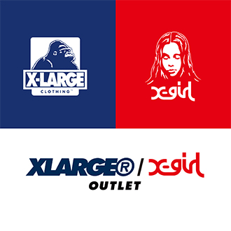 6/30(sat.) XLARGE®/X-girl OUTLET RENEWAL OPEN