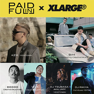 9.23.sat XLARGE®POP UP TOUR in MORIOKA