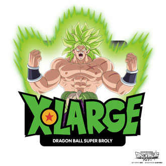 12.14.fri XLARGE®×DRAGON BALL SUPER: BROLY /…