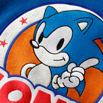 2019.1.1.tue XLARGE®×SONIC THE HEDGEHOG