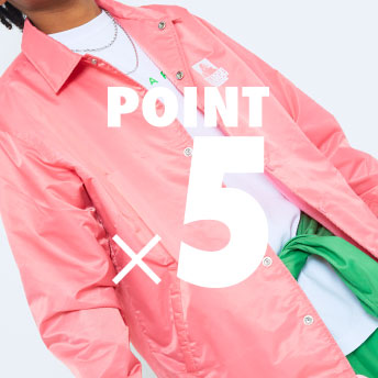 B's POINT SERVICE POINT×5 CAMPAIGN