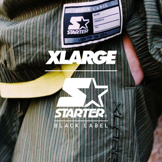 3.23.sat XLARGE×STARTER BLACK LABEL