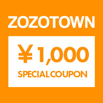 4.10.fri ZOZOTOWN ¥1,000 COUPON CAMPAIGN