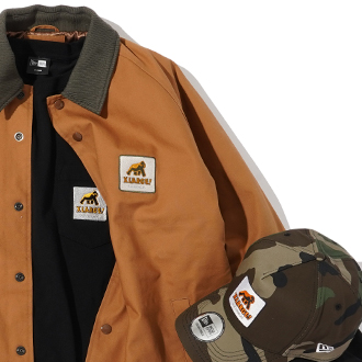 1.1.wed XLARGE×New Era® WALKING APE COLLECTI…