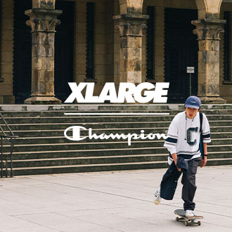 4.24.fri XLARGE×Champion