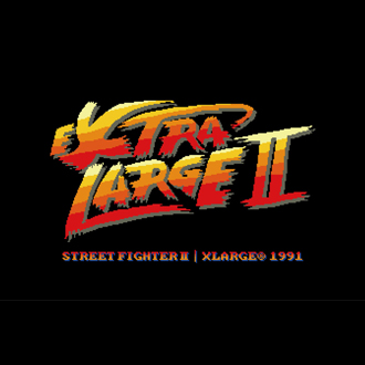 XLARGE®× Street Fighter II