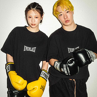 XLARGE×X-girl×EVERLAST