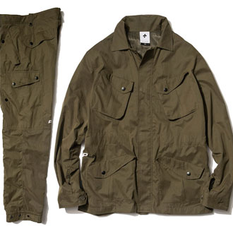 PLUS L by XLARGE® MIL JACKET & PANT
