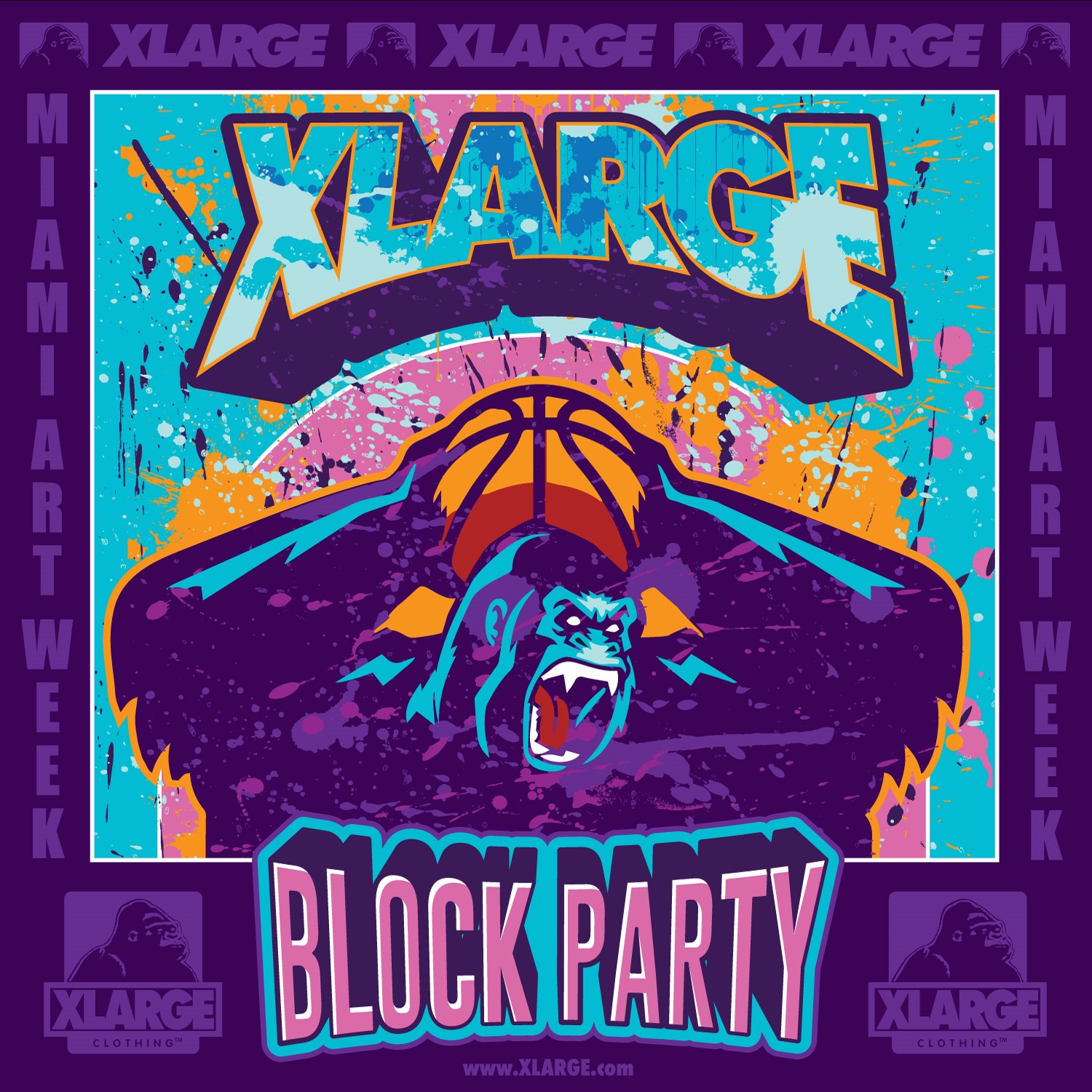 12.7. Sat XLARGE MIAMI ART WEEK