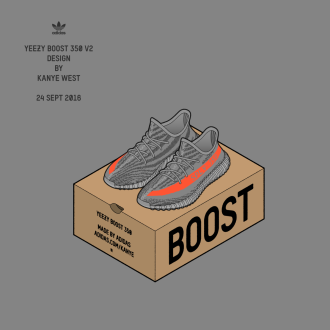 【adidas Originals by KANYE WEST】YEEZY BOOST …